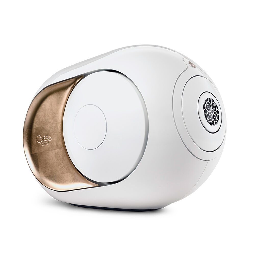 Devialet Gold Phantom Opera De Paris wireless speaker (gold leaf) — Six  Audio