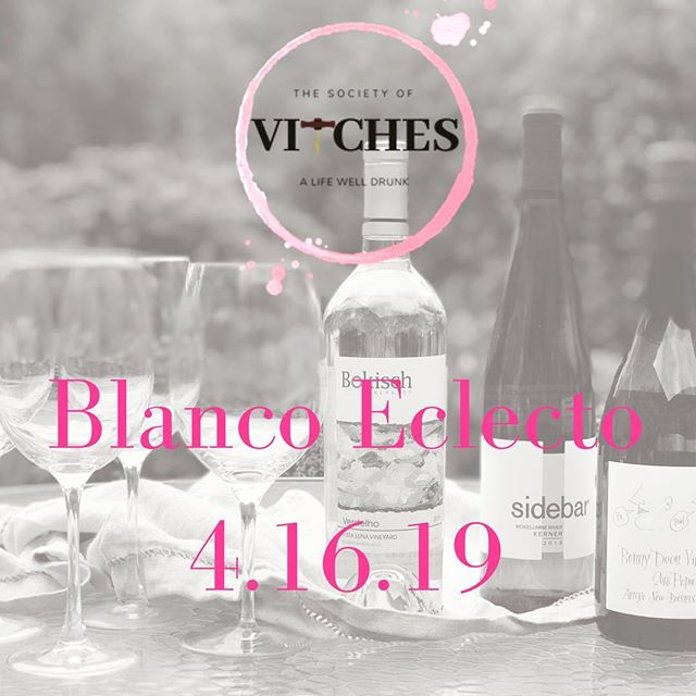 UPCOMING TASTING: Blanco Eclecto - You know when you cruise the wine list, and there are a whole bunch of varietals you've never seen before- or maybe you've heard of them, but have never been adventurous enough to take a chance. We've lined up a group of rebel varietals to test your palate and retrain your brain.  Reserve your place at the tasting table by following the link in Bio above 👆🏼 to UPCOMING EVENTS. . . . . . #winetasting #winetime #tastingclub #wine #women #womenempowerment #savvysippers #EDUtaste #winED #taste #connect #learn