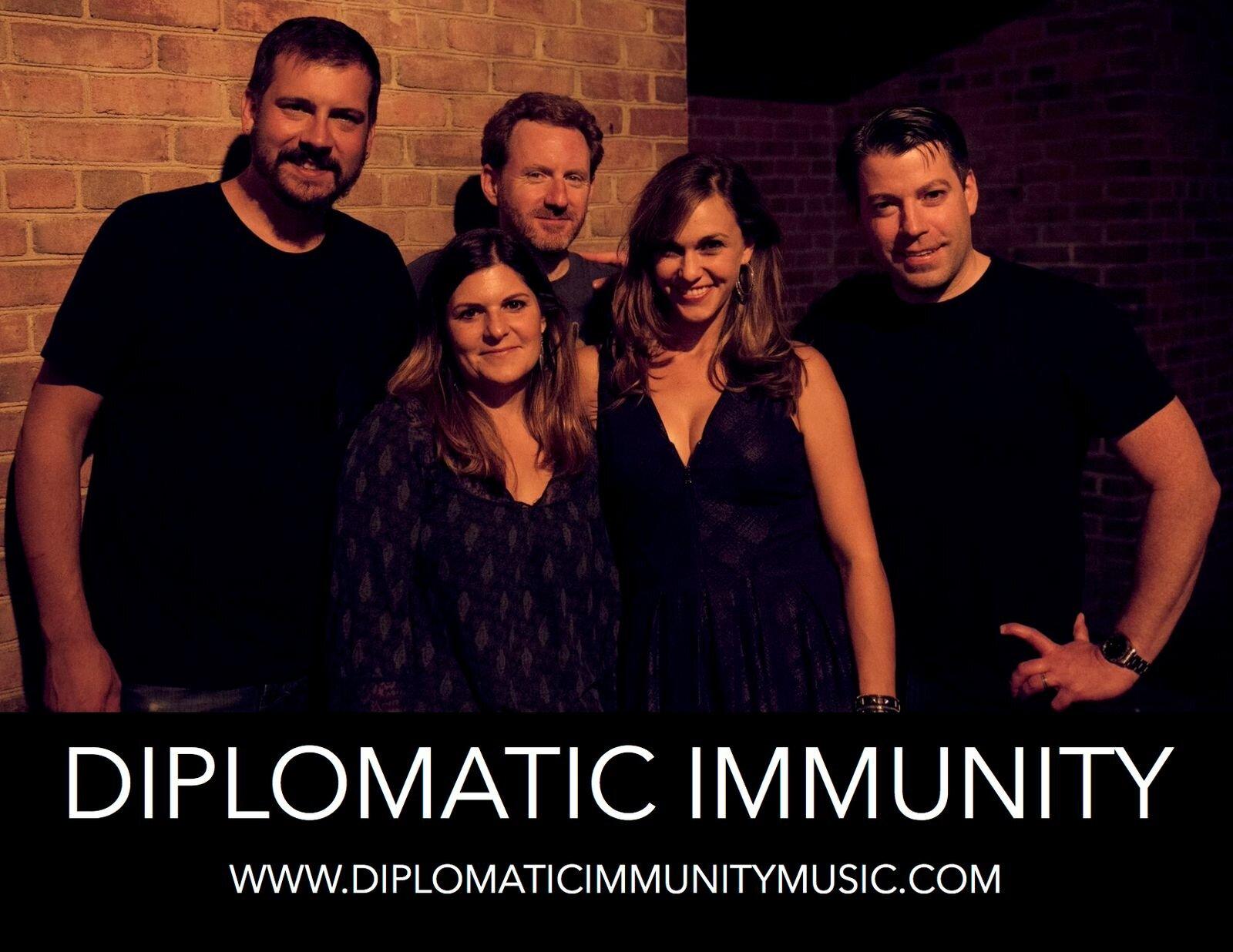 Diplomatic Immunity - Sun 9/29 @ 4:00 PM