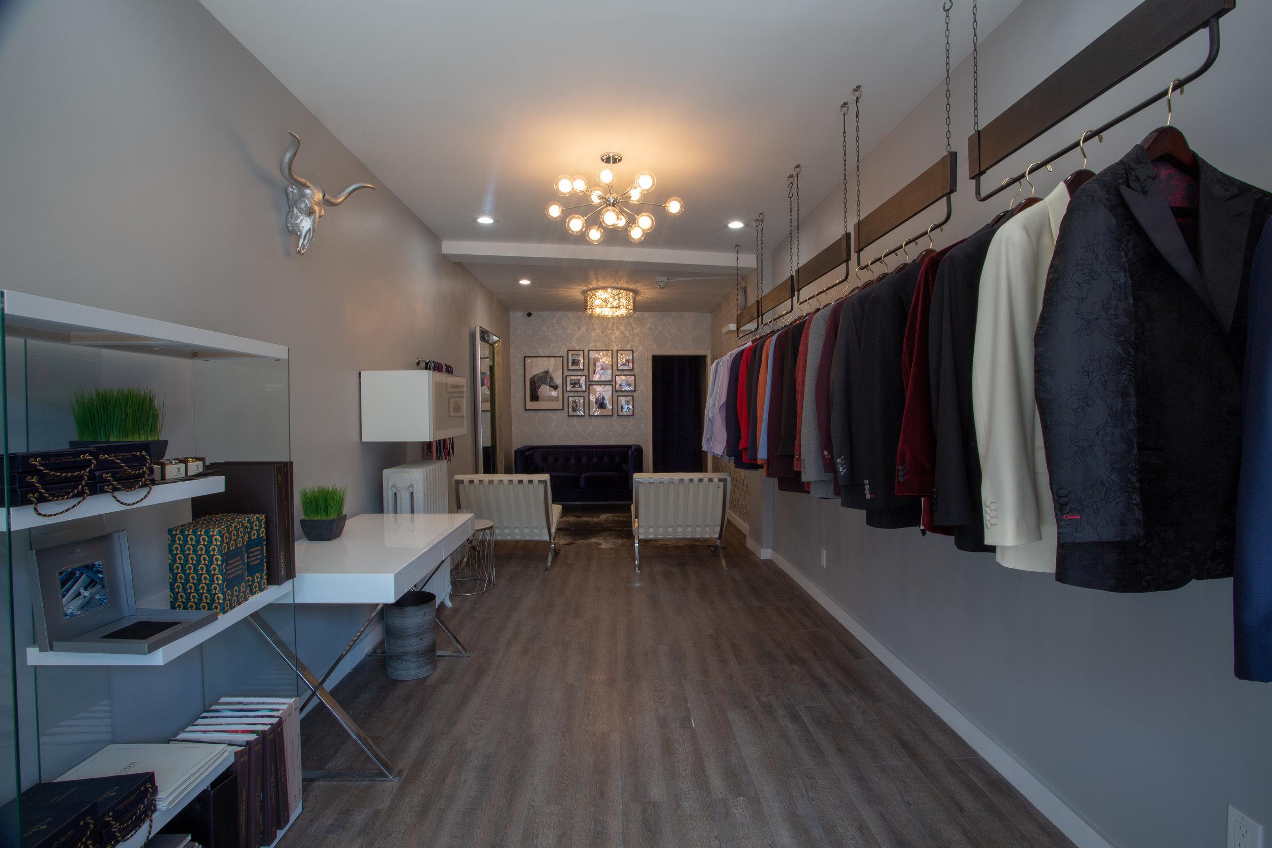 Experience Luxury In Our Custom Suits NJ Showroom
