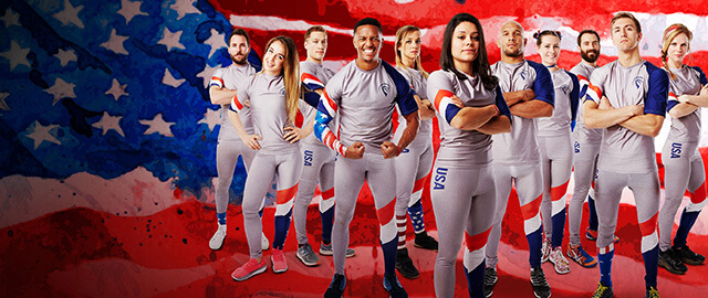 Lefty Production Co. produces Netflix's Ultimate Beastmaster Season 2 Official Team Athletic Uniforms