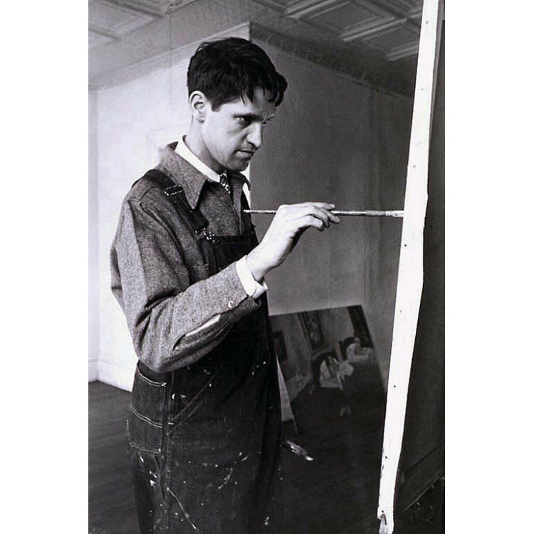 FAIRFIELD PORTER - (1907-1975) studied at Harvard and the Art Students League in NYC, where he moved in 1928. He is known for painting realist and representational work during a time when Abstract Expressionist painting was dominating the art world. His subjects are primarily landscapes and portraits, painted in Maine, NYC, and at his home on Long Island. He continued to paint figuratively throughout his career, as pop art and minimal art came into vogue. His work is in many major collections, including the Smithsonian, the Whitney, the Museum of Modern Art, and the Metropolitan Museum of Art.
