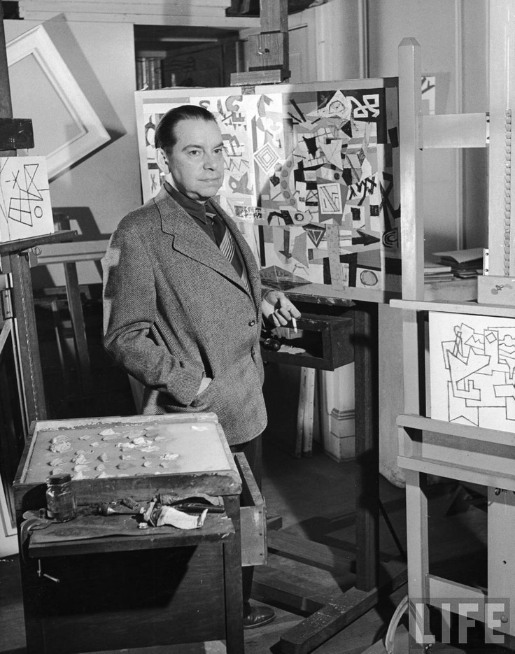 STUART DAVIS - (1892 - 1964) was born in Philadelphia, and was a prominent member of the Ashcan School. He studied with Robert Henri and was friends with John Sloan. As an early American modernist painter, he had a successful career during his lifetime. He was one of the youngest painters to exhibit in the famed Armory Show of 1913. He is known for his abstract paintings of still lives and landscapes. He spent some time painting in Paris, and lived most of his life as an artist in New York City. His work is in every major museum in the United States, including the Metropolitan Museum of Art, MOMA, the Art Institute of Chicago, the Smithsonian, the Whitney Museum of American Art, and many more.