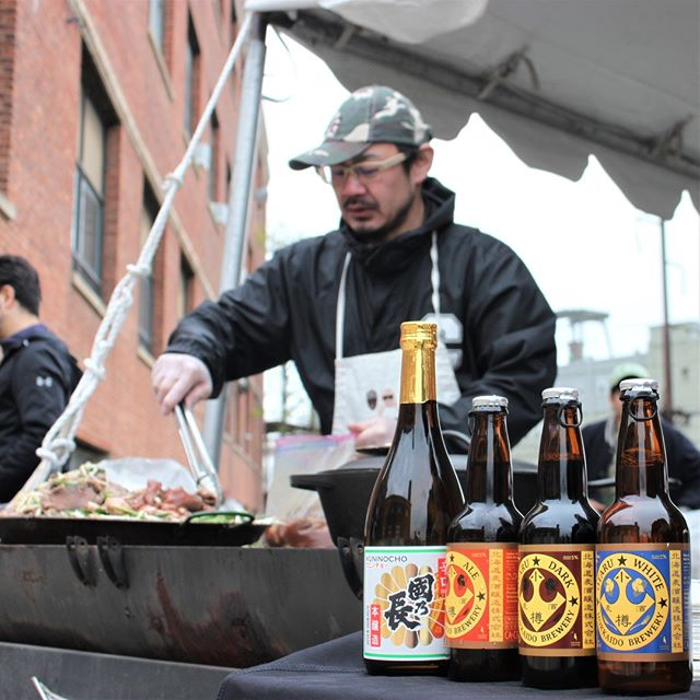 Not a far reach with this #ThrowbackThursday, but we just wanted to thank @Mune.Ogata again for serving us some of the best food Japan has to offer alongside our Hokkaido beers at @manacontemporary @manadecentralized this past Sunday.⁣ .⁣ .⁣ .⁣ .⁣ .⁣ .⁣ ⁣ ⁣ #craftbeer #beer #beers #beerchat #microbrew #craftbrew #craftbeergreek #beerstagram #beerpulse #beergeek #beerquest #beerporn #craftbeerporn⁣ #jerseycity #nyc #newyork #newyorkcity ⁣ #drinkjapanese #drinknippon #hokkaidobrewing #hokkaidobeers #japanesebeer #fruitbrewing #manacontemporary #manadecentralized #art #artgallery #creative #modernart