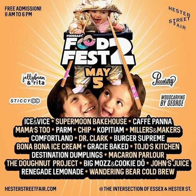 Who else is ready for the FoodBabyNY Food Fest 2 this Sunday in NYC? The Chau family, otherwise known as @foodbabyny, will be curating the Hester Street Fair for the second time on May 5th as the adorable foodie toddlers and their parents showcase their favorite vendors to their massive social media following.⁣ .⁣ .⁣ .⁣ .⁣ .⁣ .⁣ ⁣ ⁣ #lowereastside #nyc #newyork #newyorkcity ⁣ #craftbeer #beer #beers #beerchat #microbrew #craftbrew #craftbeergreek #beerstagram #beerpulse #beergeek #beerquest #beerporn #craftbeerporn ⁣ #drinkjapanese #drinknippon #hokkaidobrewing #hokkaidobeers #japanesebeer #fruitbrewing #supportartists #smallbusiness #foodie #foodporn #instafood #foodphotography #foodstagram