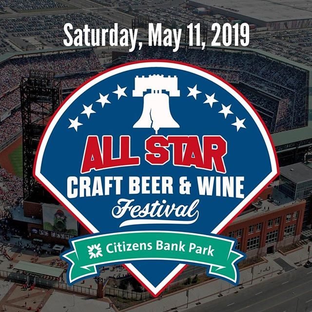 Saturday's All Star Craft Beer & Wine Festival at Citizens Bank Park, organized by @Upcoming_Events is another festival you just can't miss if you consider yourself a Philly beer drinker.⠀ .⠀ .⠀ .⠀ .⠀ .⠀ .⠀ .⠀ .⠀ #beerfest #beer #craftbeer #beers #festival #beerlovers #beerlover #instabeer #beerstagram #beerlove #beertime #fashion #beerlife #party #oktoberfest #beertasting #beerporn #germanfood #cheers #beerme #beerfestival #like #friends #beertography #beerbeerbeer #beeroftheday #beersnob #beerpong #philly #phillies