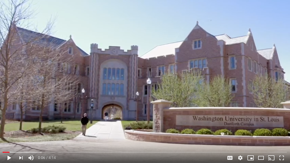 Washington University - InCEES Video  Click Here to Watch