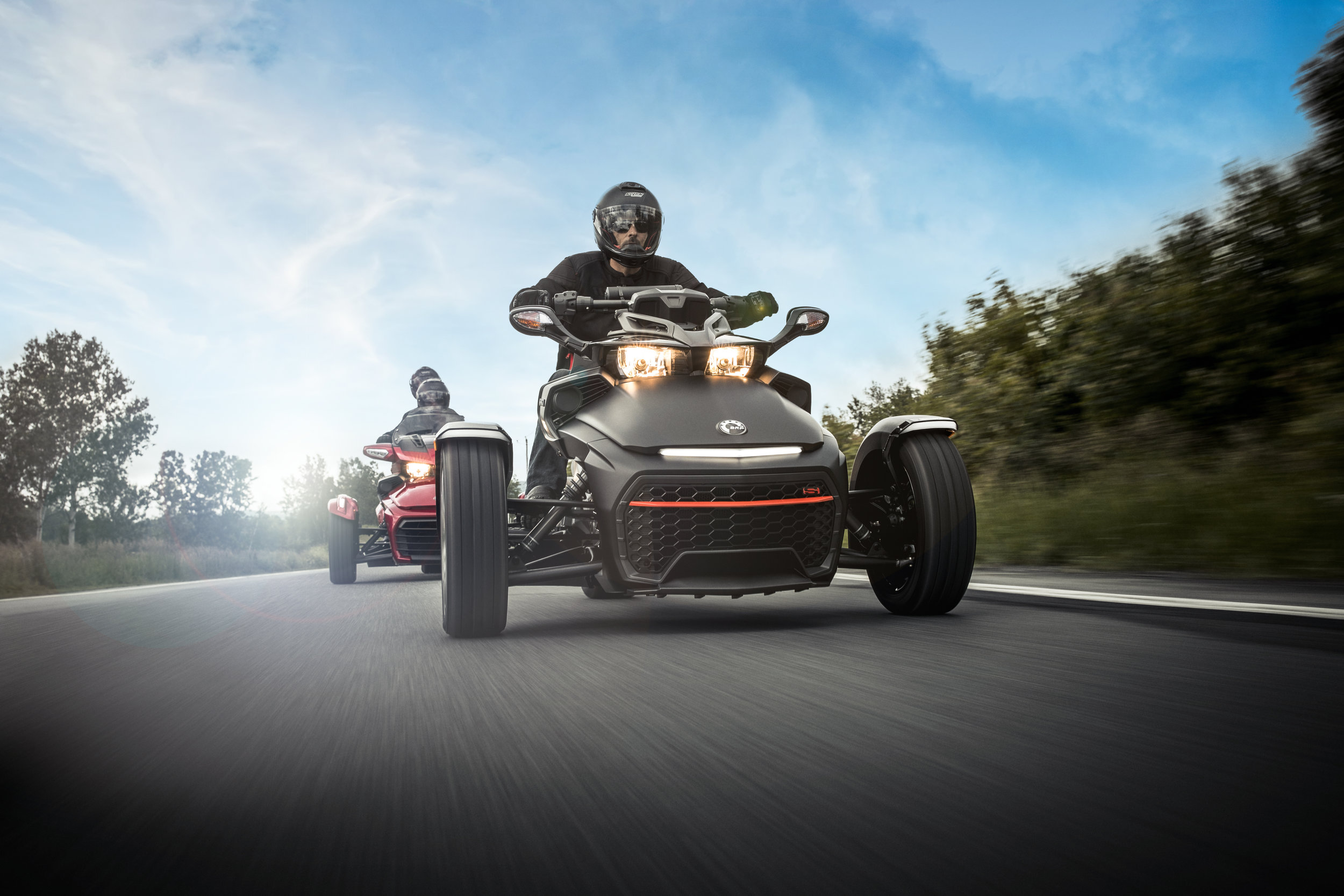 Can-Am Spyder -  Specifically Engineered for Can-Am Spyder