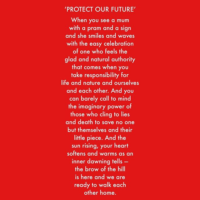 #climatestrike #thismorning #newpoetry #protectourfuture