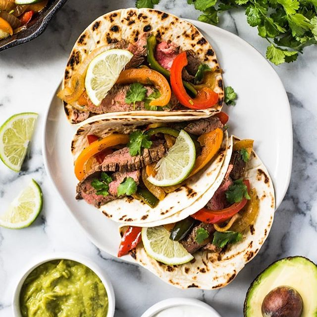 #tacotuesday 🌮 Let's eat Steak Fajitas today or save this recipe for the weekend! No matter what you do... you may not have leftovers. Get @isabeleats recipe with the link in my bio! . . https://www.isabeleats.com/easy-steak-fajitas/ . . . . . . . . . . . . . . . . . #foodgawker #igfood #food52 #homemade #fresh #forkyeah  #knowyourfood #recipe #recipeoftheday #lovefood #feedfeed #f52grams #makeitdelicious #healthyfood #healthyeating #eatright #freshforlaura #eeeeeats #thekitchn #onthetable #buzzfeast #instafood #inseasonnow #tastingtable #goopmake #thecookfeed