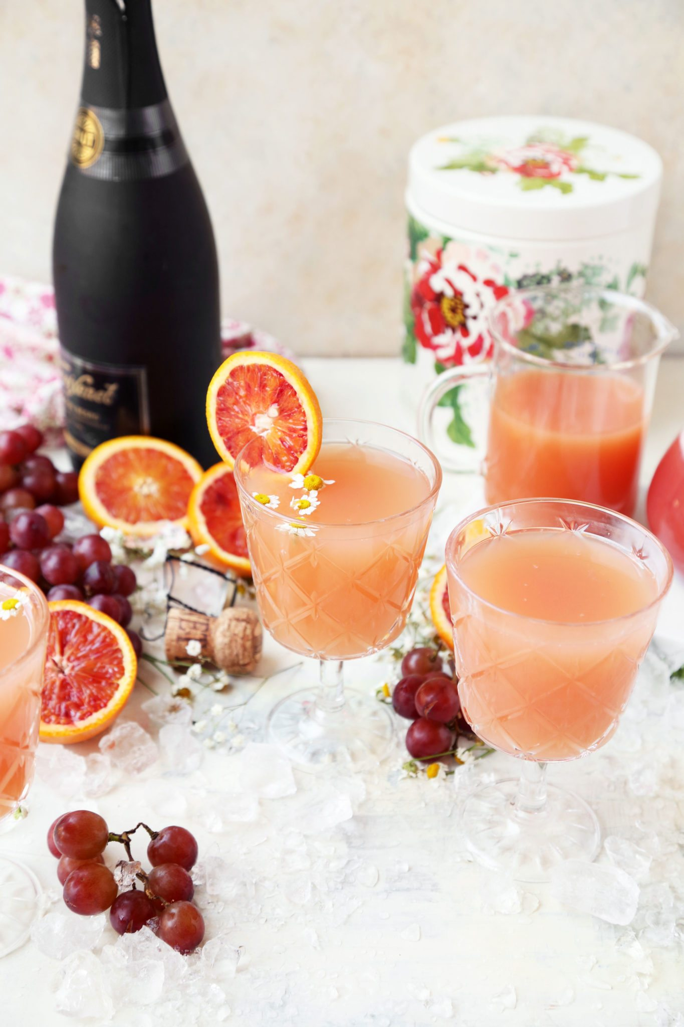 Kombucha Grapefruit Cocktail
