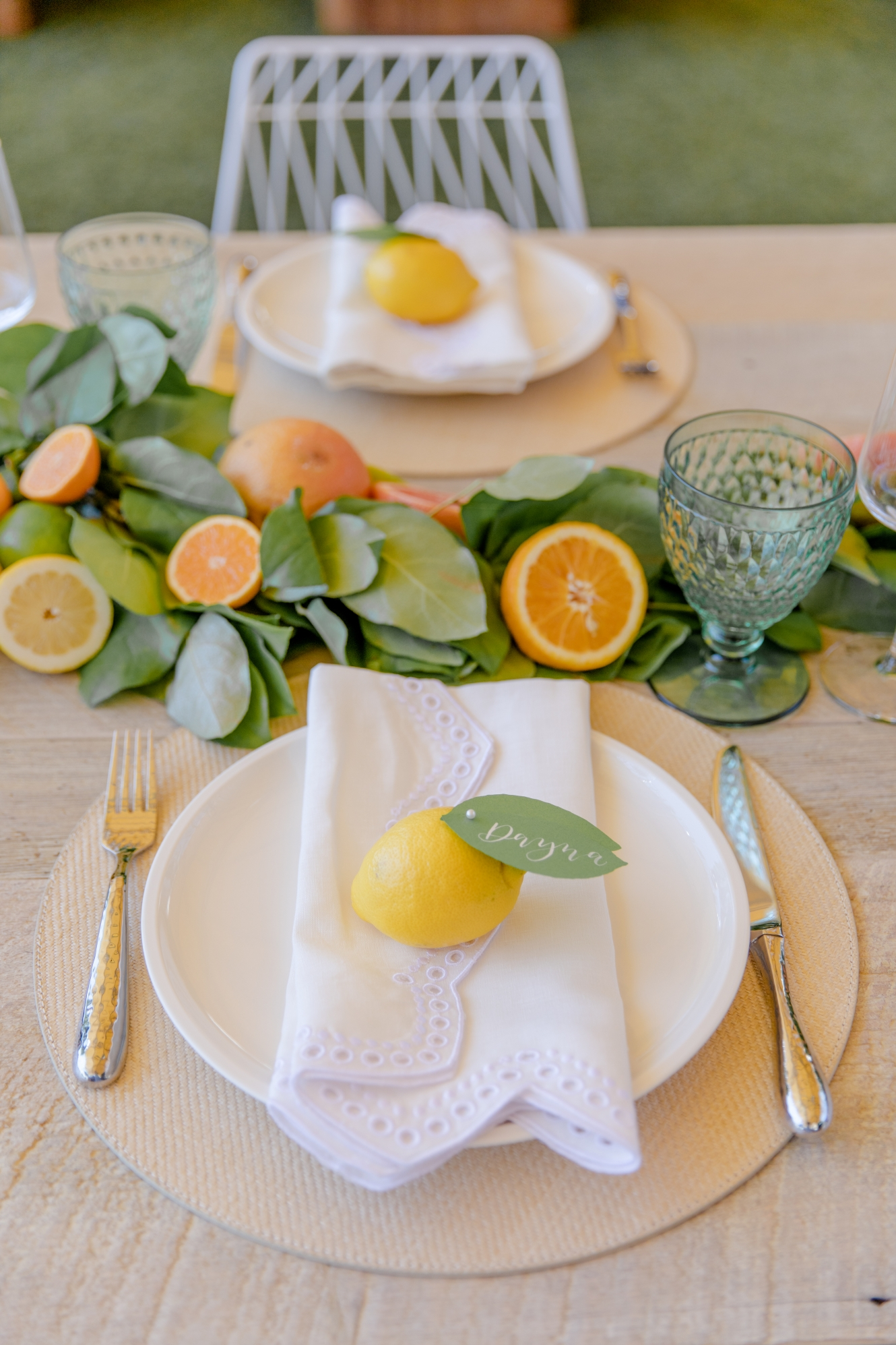 Host a Citrus Theme Party
