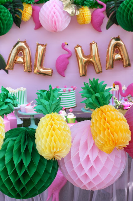 Let's Flamingle Luau| Summer Party Ideas