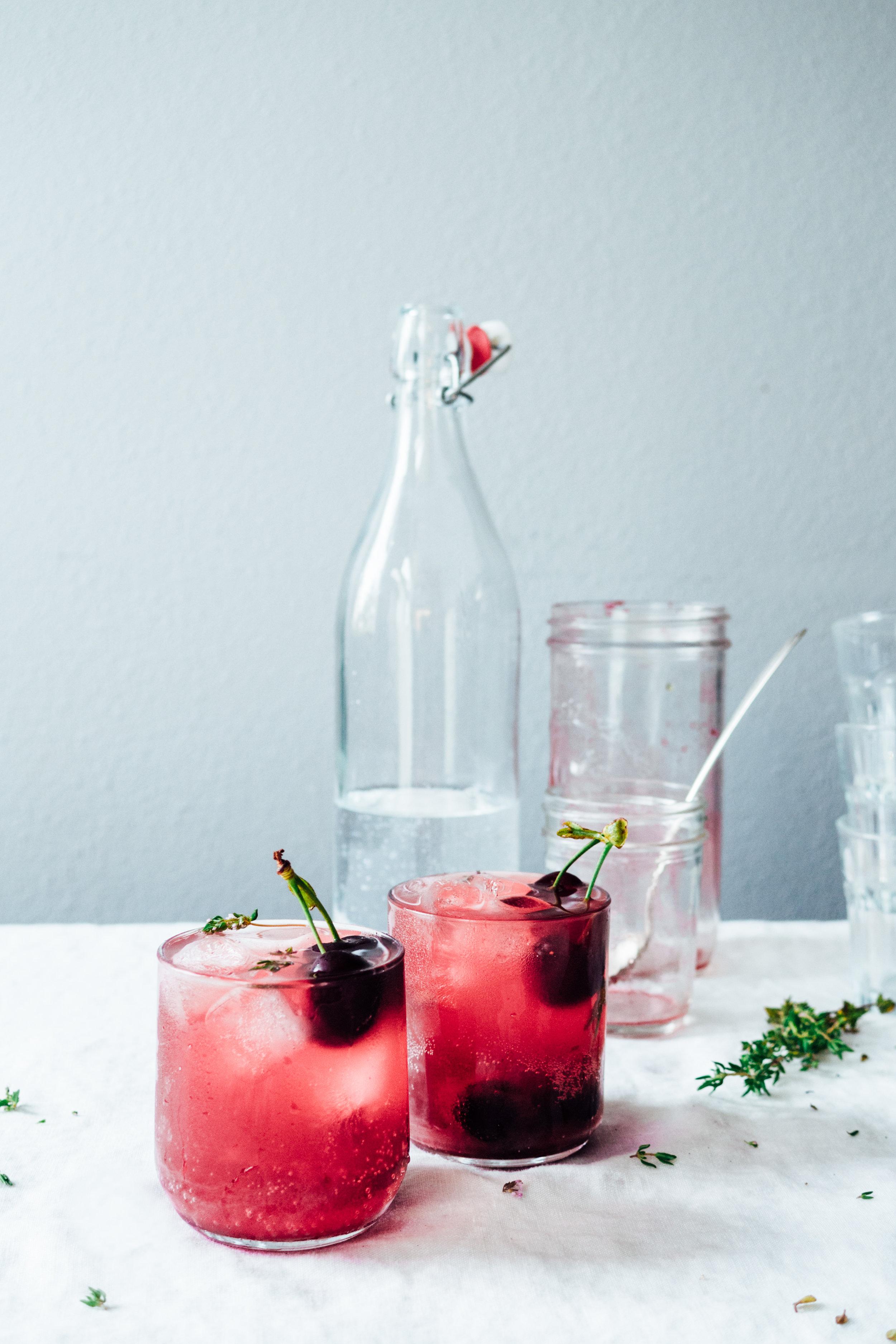 Roasted Cherry Soda