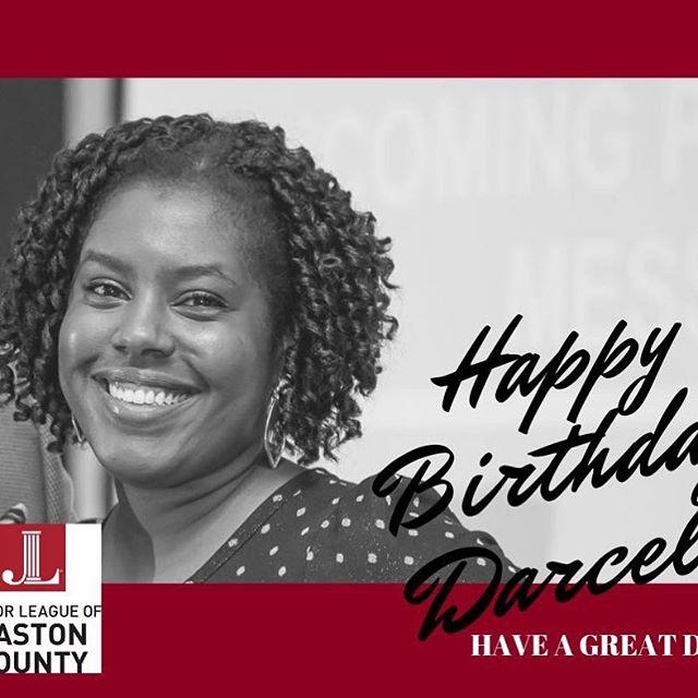 Happy Birthday Darcel!!! Have a wonderful day!