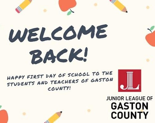 We hope all teachers, students, and parents in Gaston County had a great first day of school 🍎📚🍏