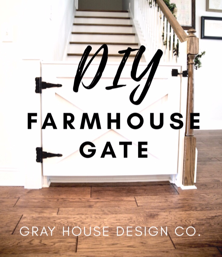 DIY+farmhouse+GATE