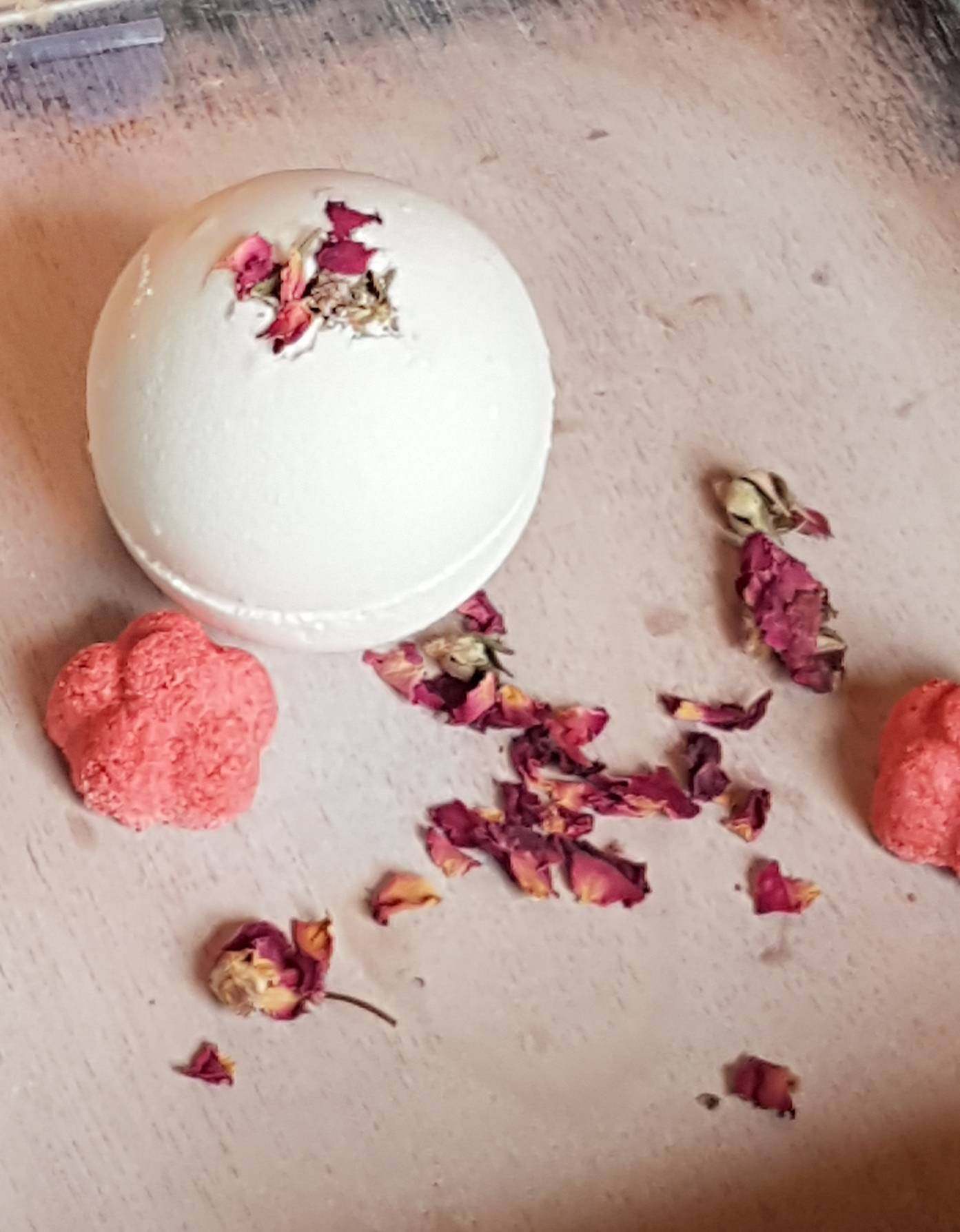 Soak yourself silly with a bath bomb. Photo courtesy of  WilliamStreetSoap .