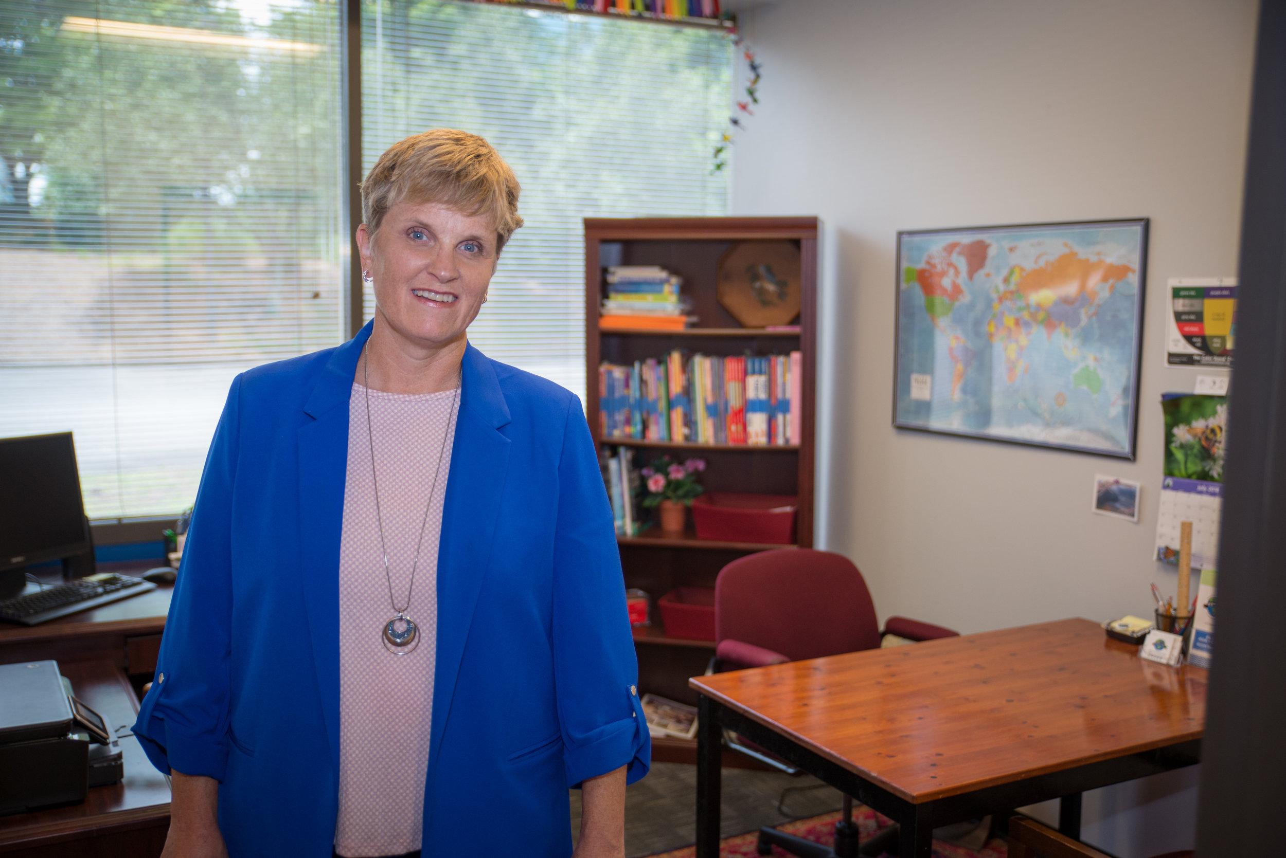 Liz Bigler, founder of Bigler ESL offering English lessons to Japanese speakers of English