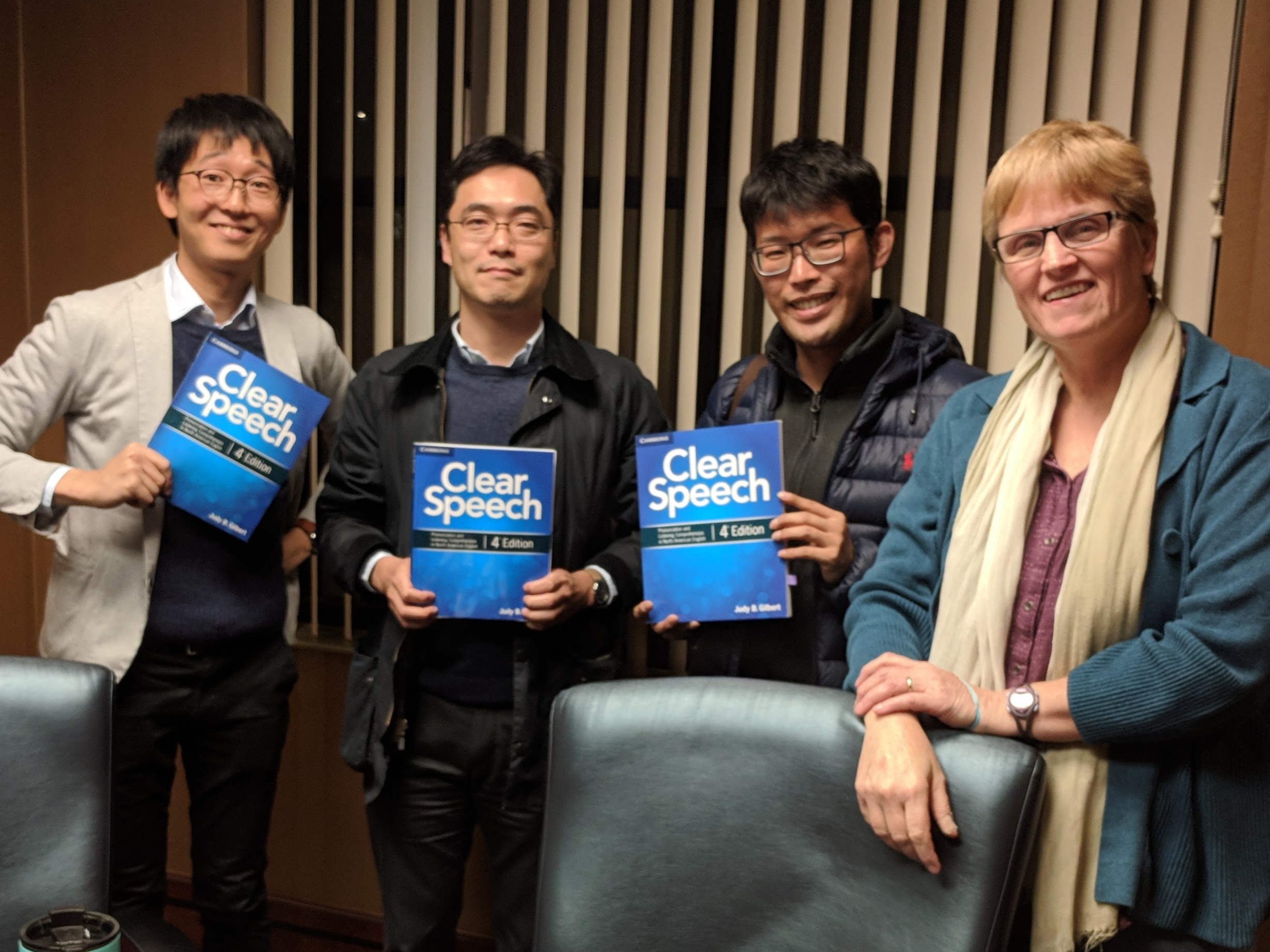 Japanese Students in Intensive Accent Reduction Course at Bigler ESL