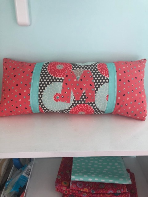 "Come make a ""lumbar pillow"" with us at the Stitching Bee!"