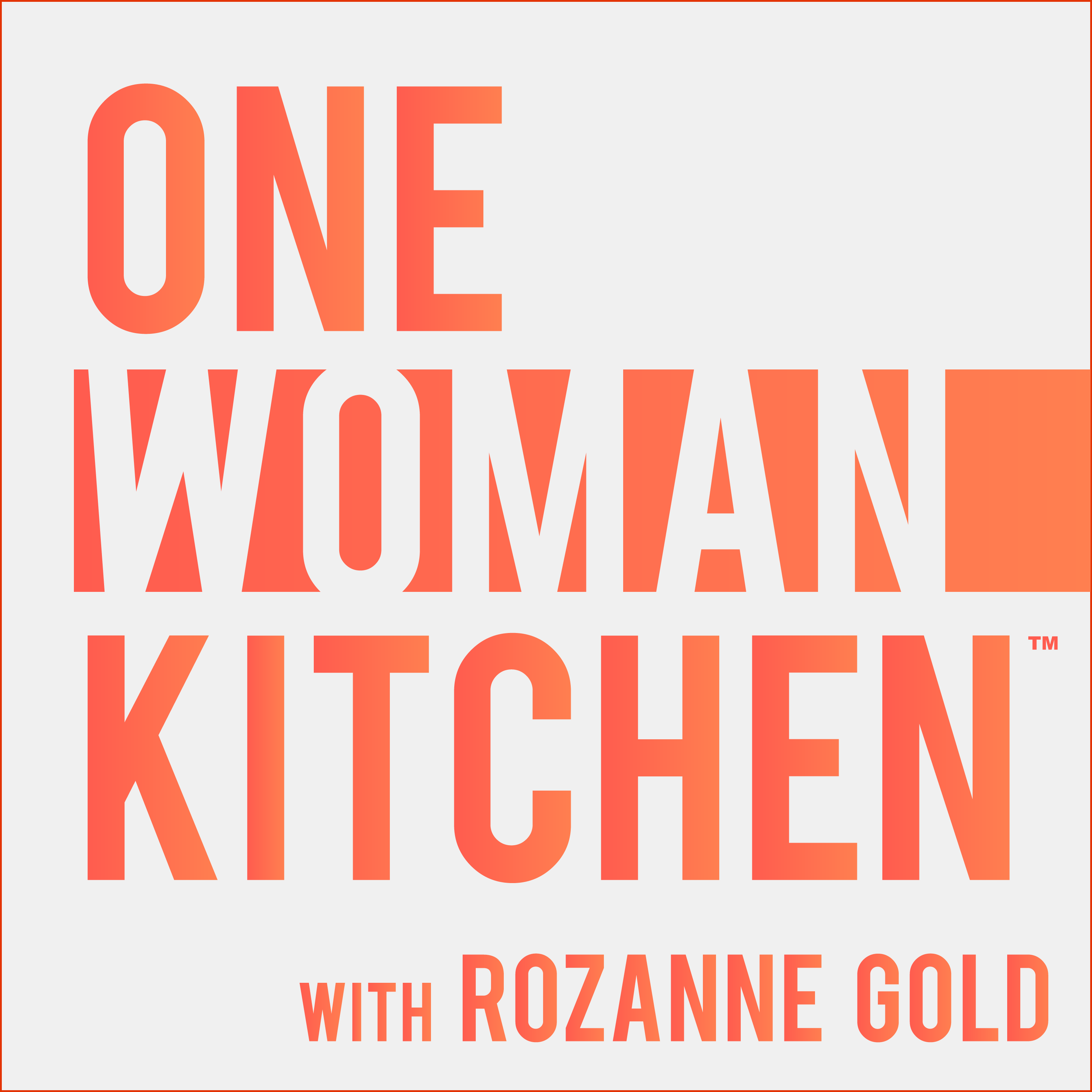 One Woman Kitchen - In the vast culinary landscape we share, we're all carving out a place for ourselves. Each of us in our own special way is a One Woman Kitchen. Come into the kitchen of Rozanne Gold, one of the most prominent women-in-food, to discover and learn from the rising female stars illuminating the culinary cosmos.