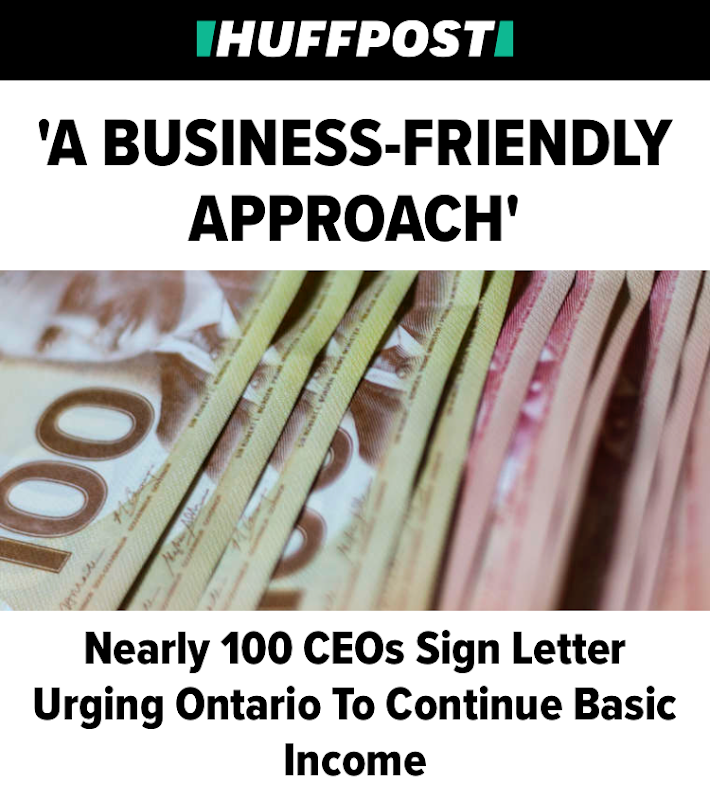 Business Support is Strong - Those in the business community who understand the issues are almost overwhelmingly in favour of the basic income. Read >>