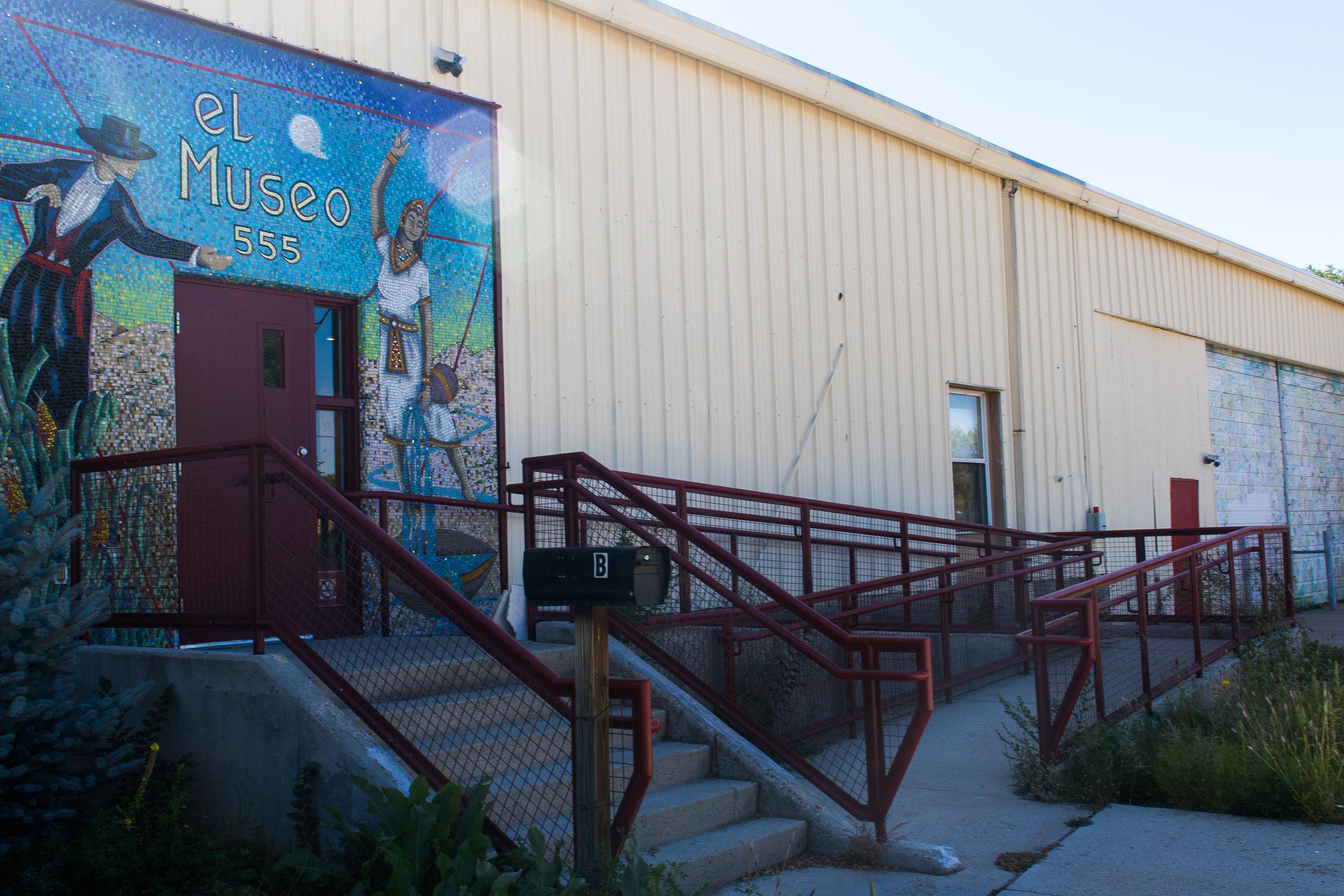 El Museo Front Entrance