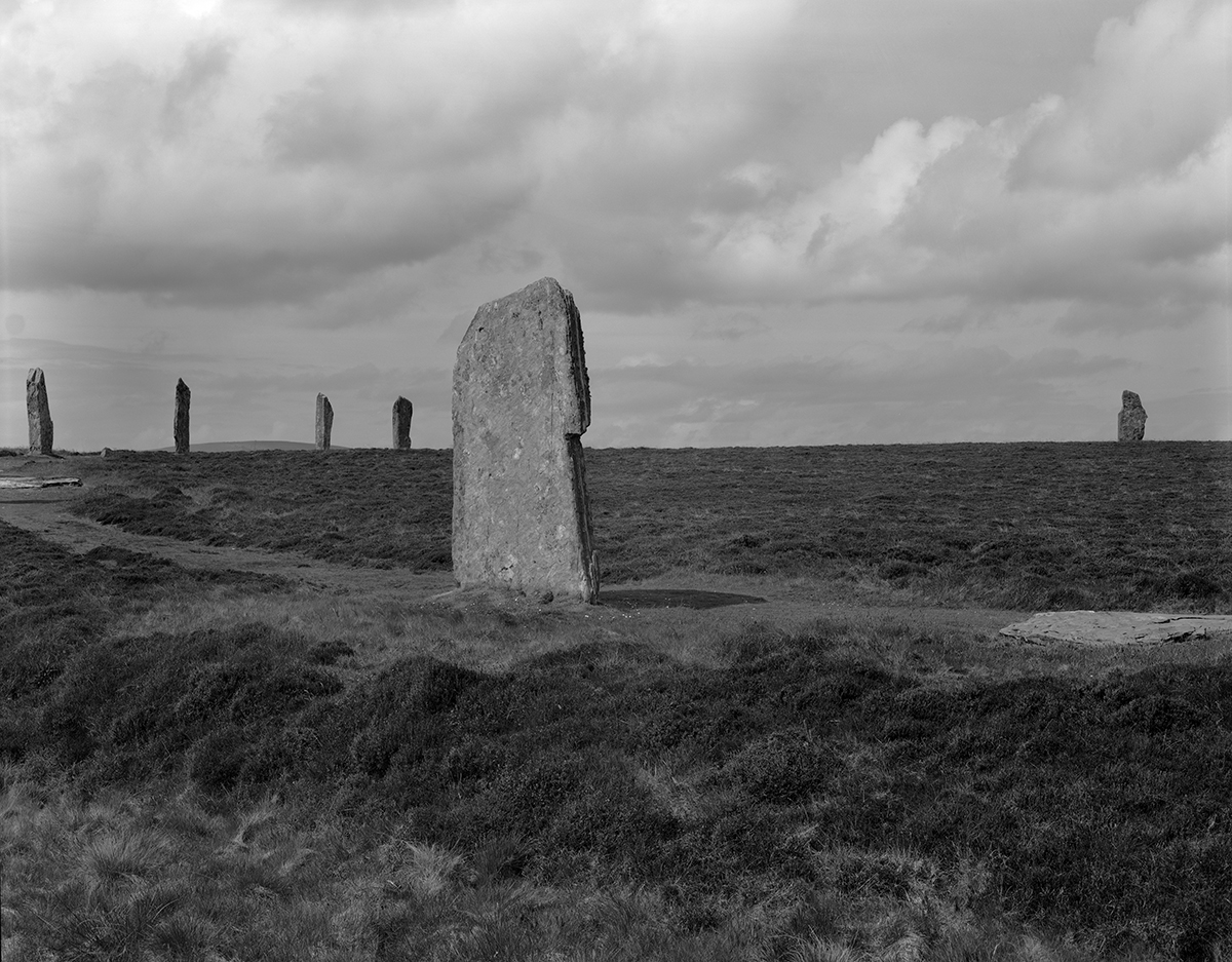Ring of Brodgar 1981, Orkney Mainland, Orkney Islands, Scotland