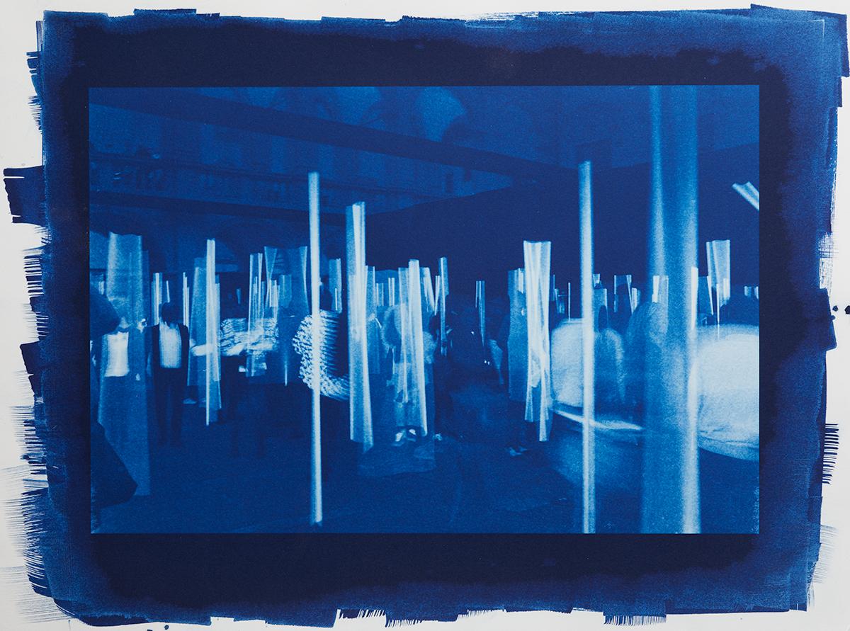 A Maze of Blue