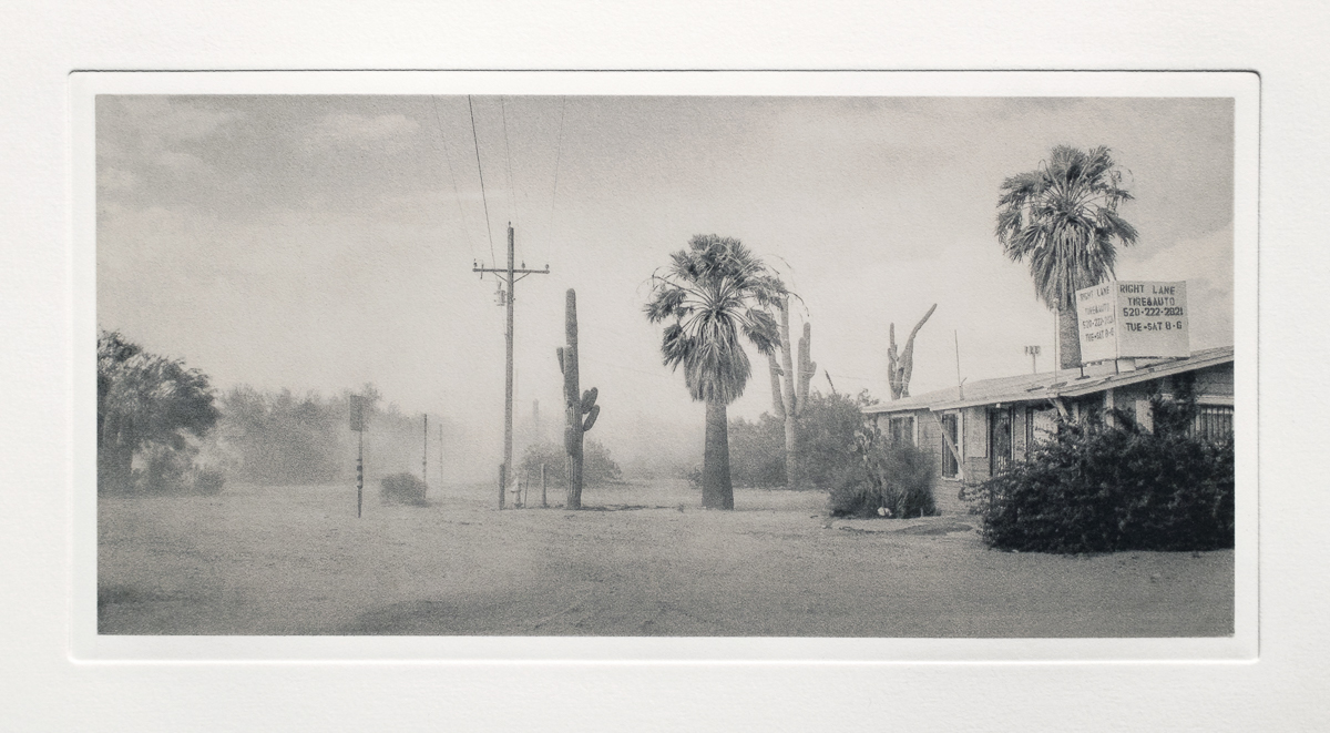 Dust Storm, Near Saguaro National Park, AZ