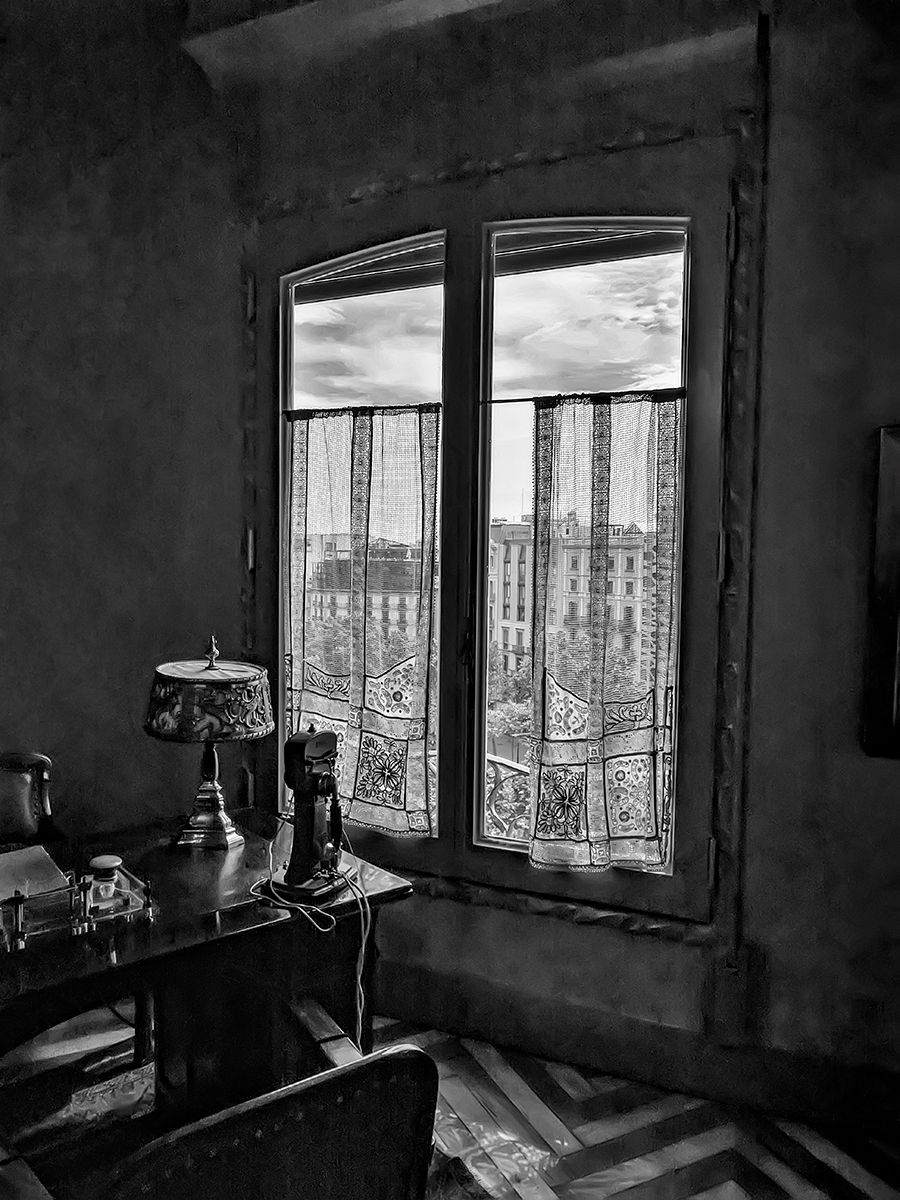 Window, La Pedrera, Barcelona, Sp