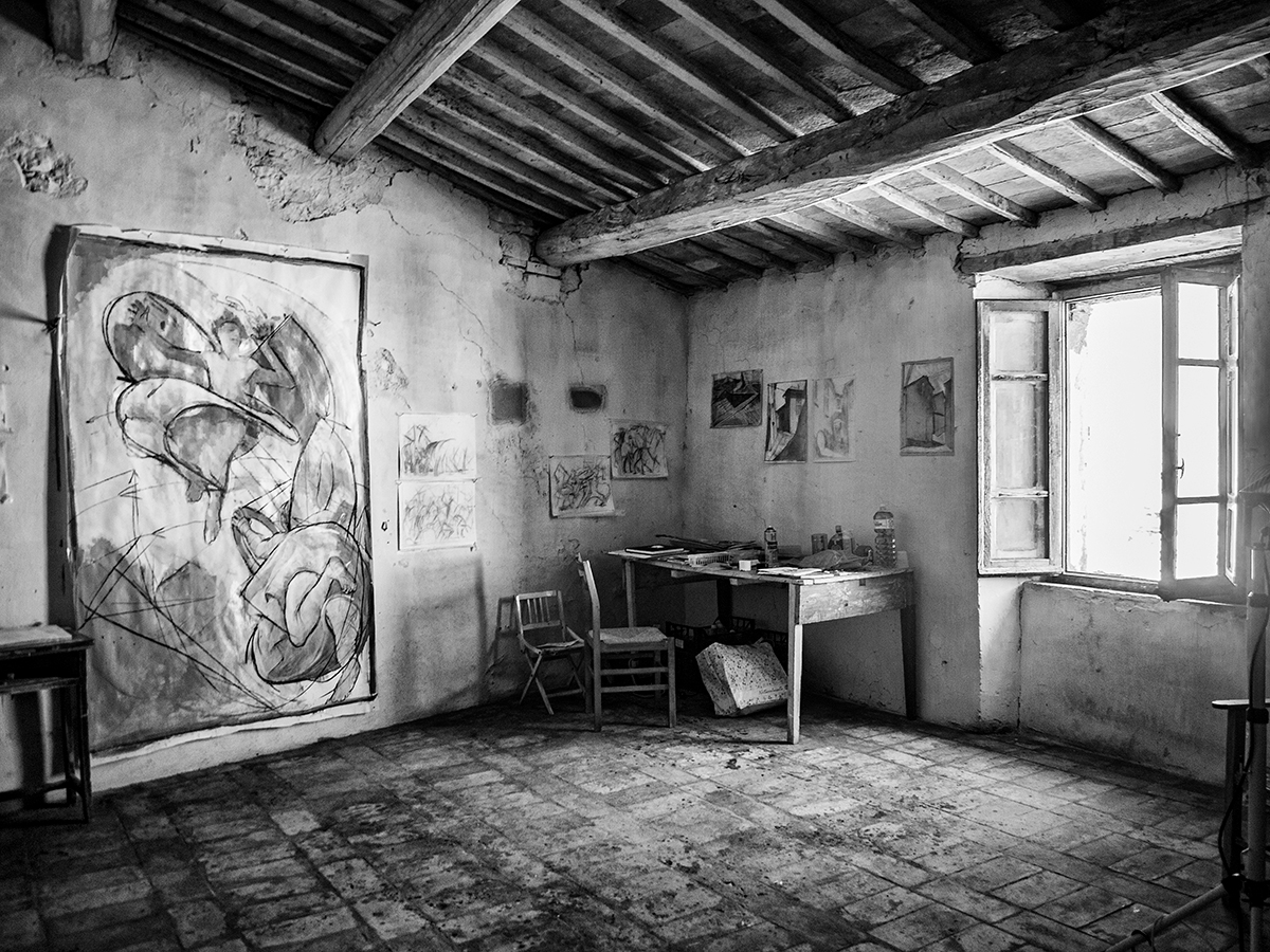 David's Studio, Monte Castello, IT