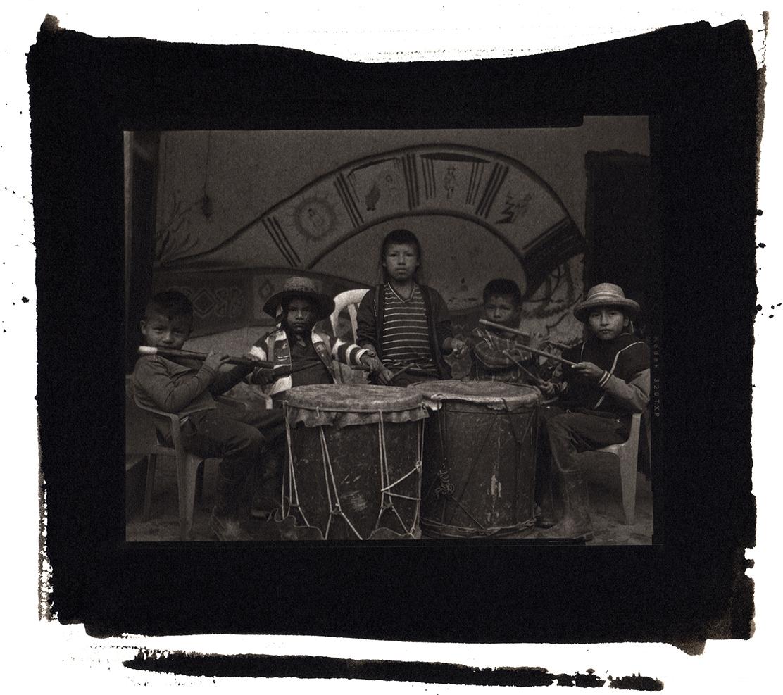 Portrait of the musical namd of the school of coca rites in Columbia/ kapiyanxi yáta tukanas jipa neh wasak kwewes.