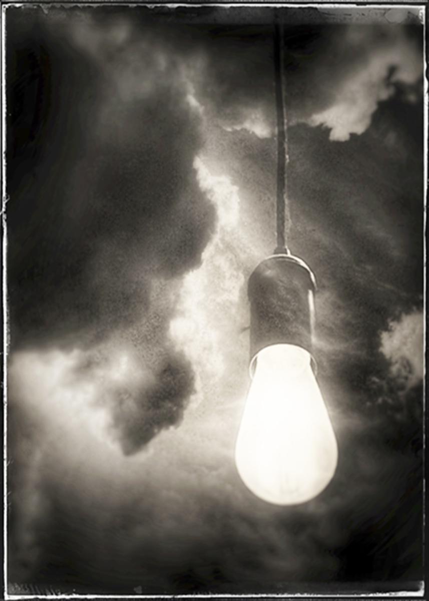 Bulb in Clouds