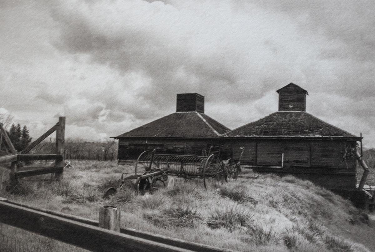 Abandoned Hop Kilns