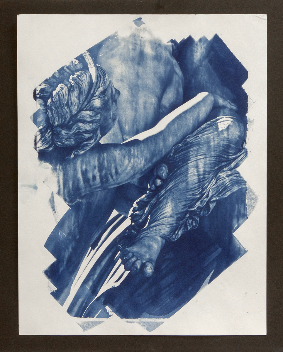"""Maxine Chelini  Cyanotype  """"Images range between 11 - 14 inches on the long side""""  NFS  chelini_maxine_1, entry #1067"""