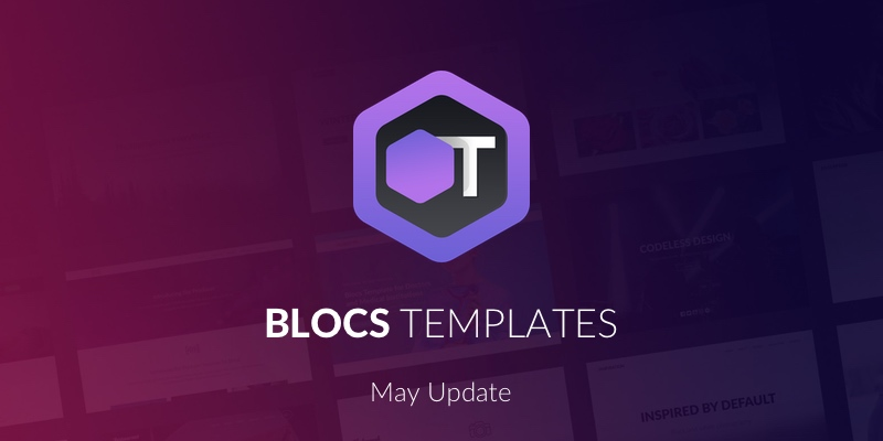 All of the current Blocs 3 templates on BlocsTemplates.com how have BEX files for Page Templates.