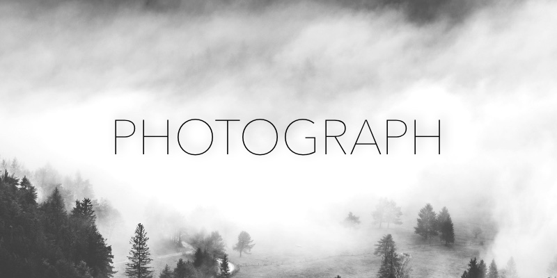 Photograph template can be used for many types of websites, including small businesses.