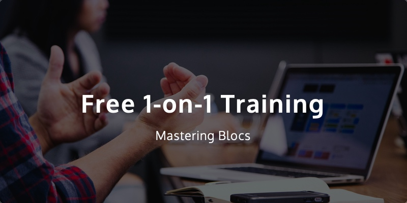 Mastering Blocs users can take advantage of this great offer.