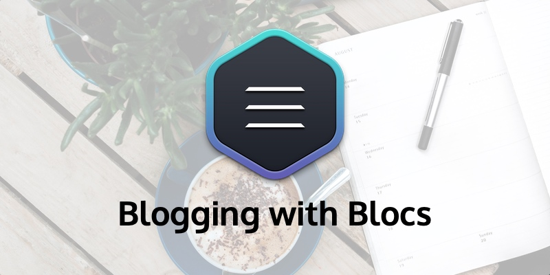 If you don't need a built-in search and complex structure, Blocs is great for Blogging.