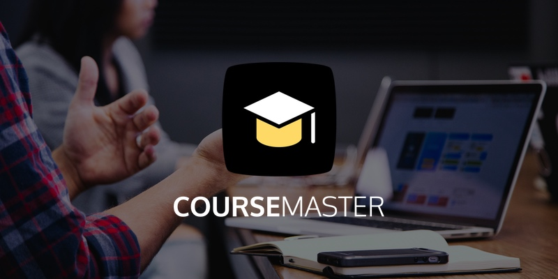 After months of hard work, I am finally happy to announce that I will release Course Master on October 28.