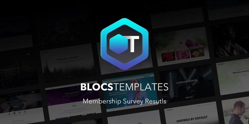 All of the users who have tried Blocs Templates and participated in the survey absolutely loved it.