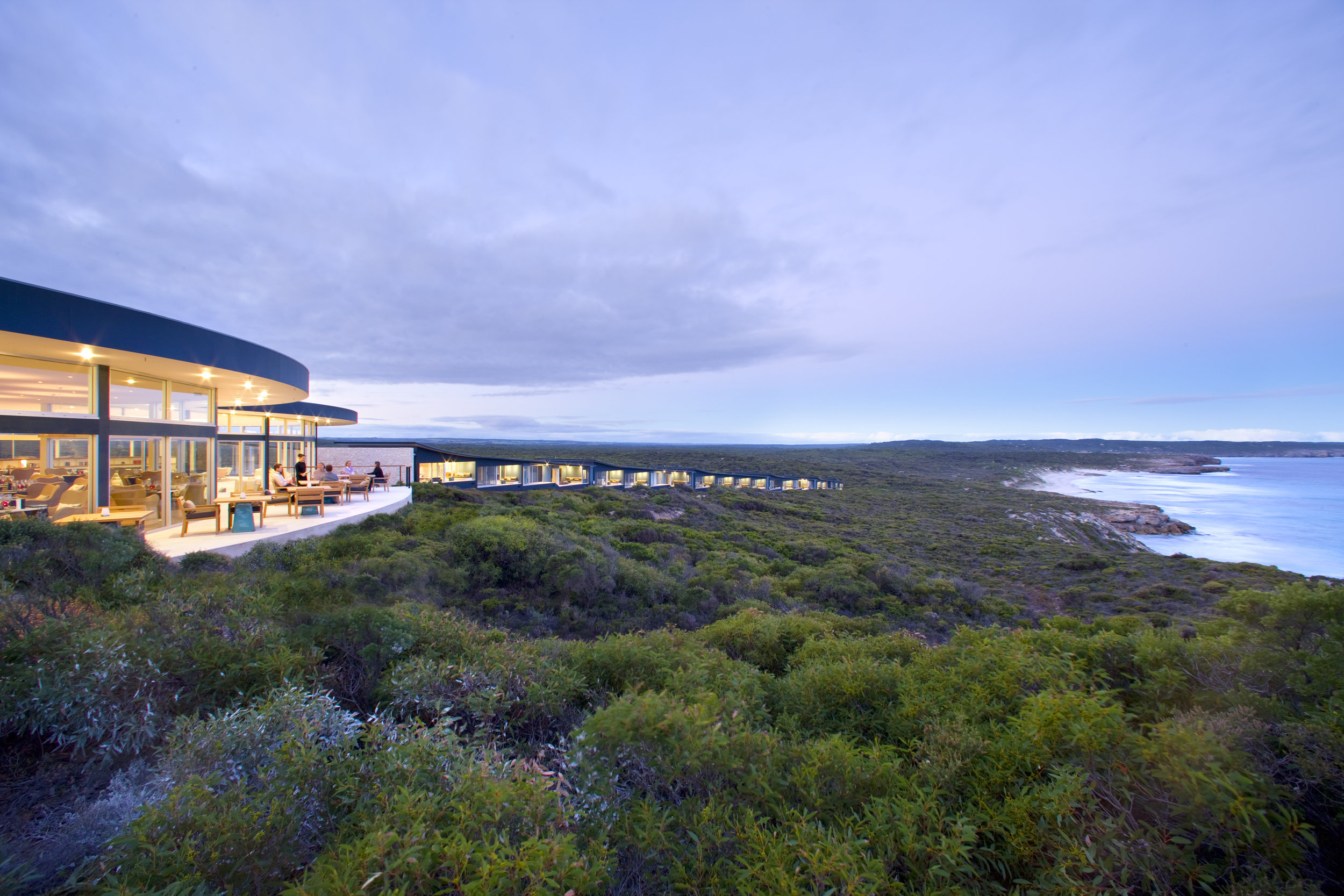 Southern Ocean Lodge. Photo courtesy baillie lodges