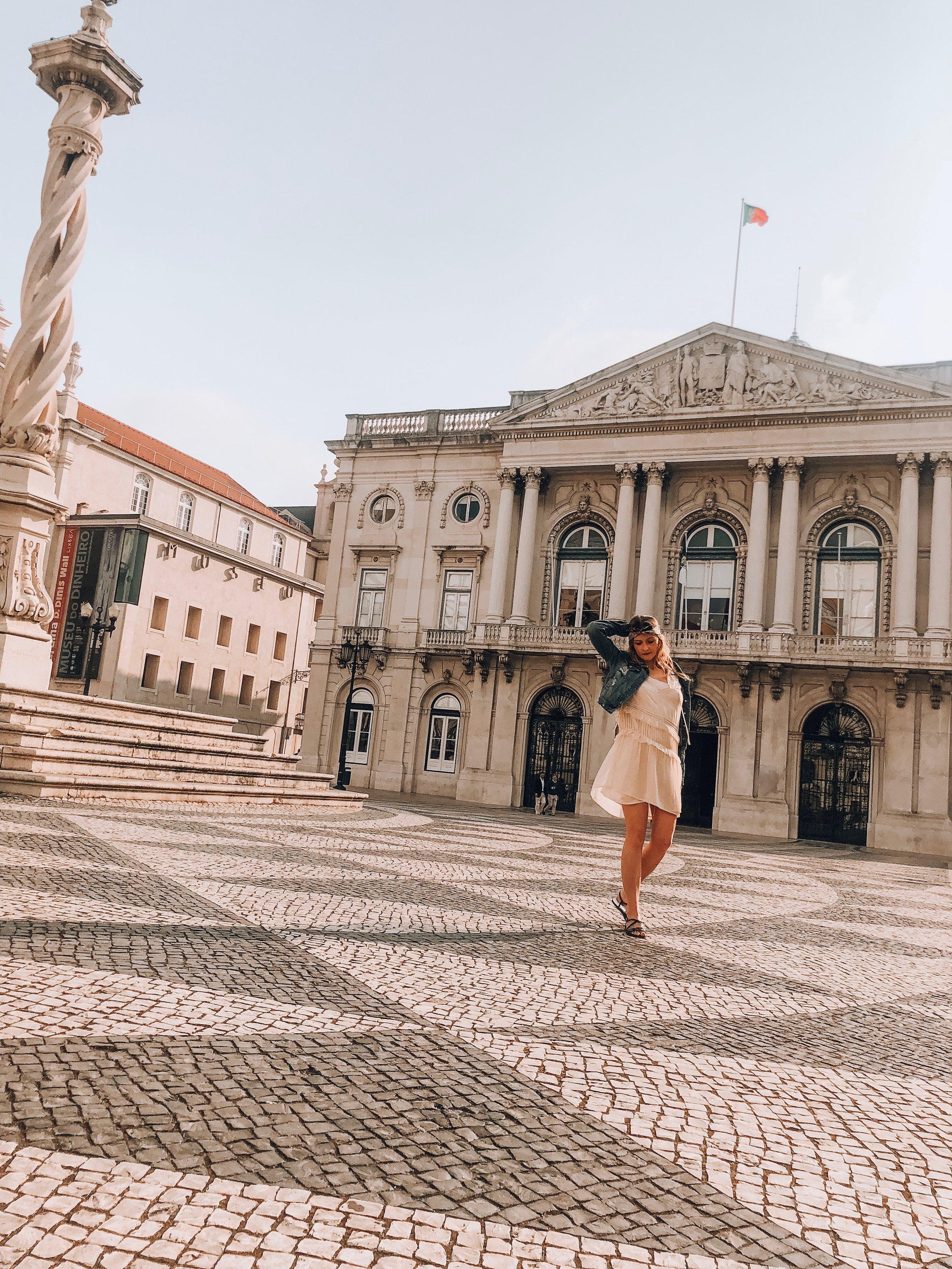 Praça do Municipio, Lisbon, August 2018