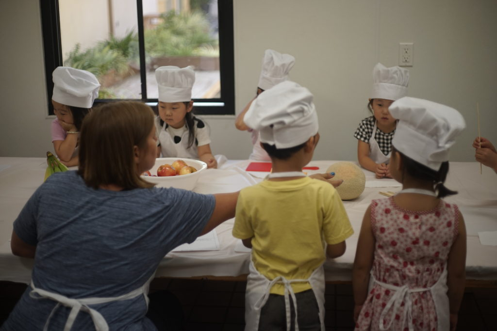 Cooking - At Stepping Stones, we believe that children should learn about the importance of food and cooking at an early age. During our cooking class, our teachers will demonstrate a lesson that goes over a simple recipe. Our students will learn basic cooking fundamentals and essential ingredients.