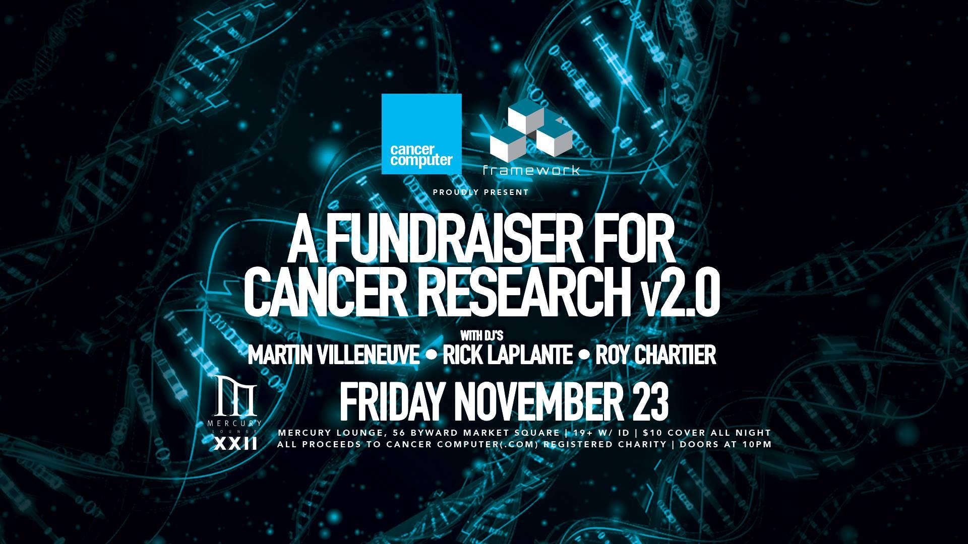 Framework Music Presents: A Fundraiser for Cancer Research v.2.0