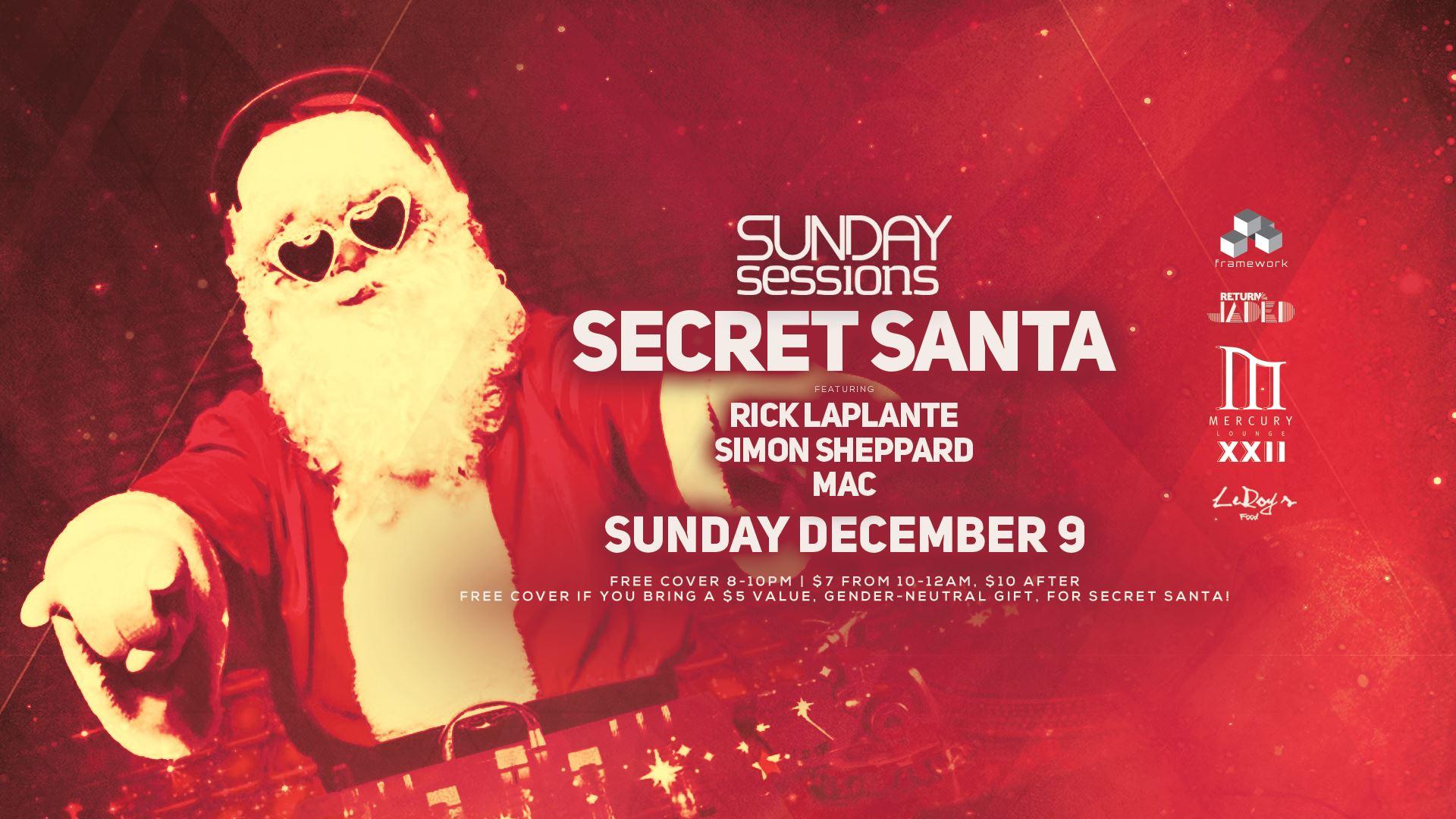 Sunday Sessions Xmas: Secret Santa Gift Exchange!
