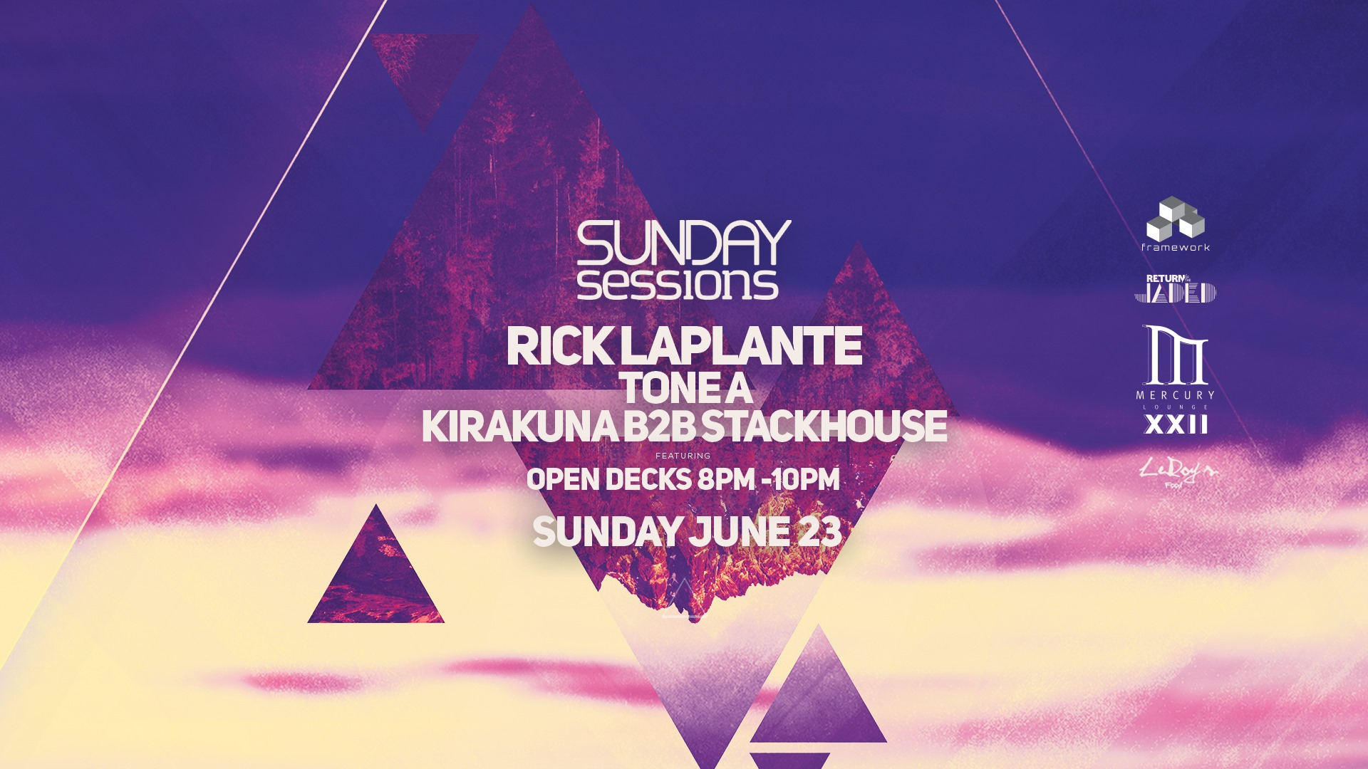 Sunday Sessions - June 23 - House Music After Hours Ottawa