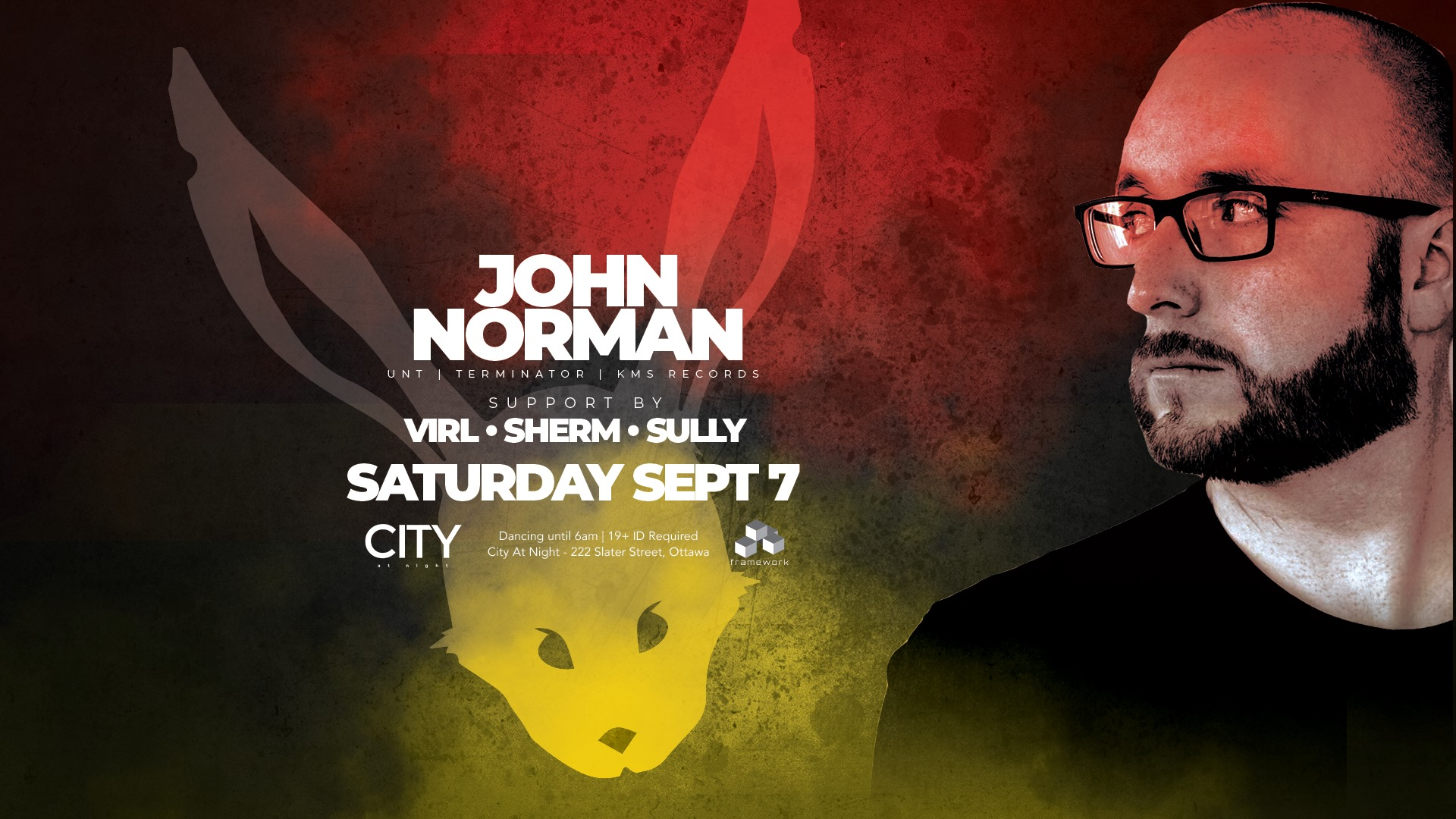 White Rabbit: John Norman - All Night Dancing 11pm to 6am